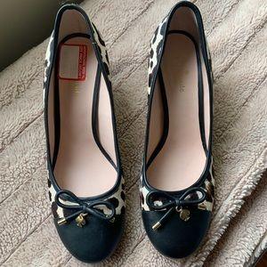 Kate Spade wedge heel pumps